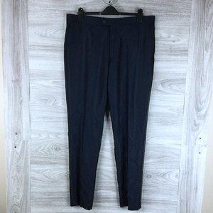 SAVILE ROW CO Navy Slim Fit Suit Pants